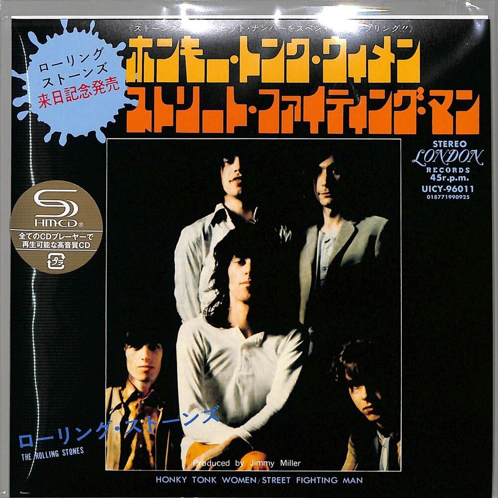 The Rolling Stones - Honky Tonk Women/ Street Fighting Man (SHM-CD) (7-inch Sleeve Packaging)