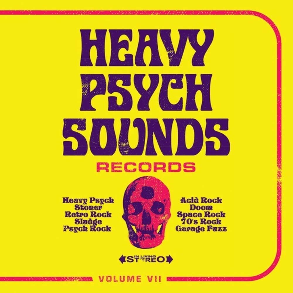 Heavy Psych Sounds Sampler Vii / Various - Heavy Psych Sounds Sampler Vii / Various