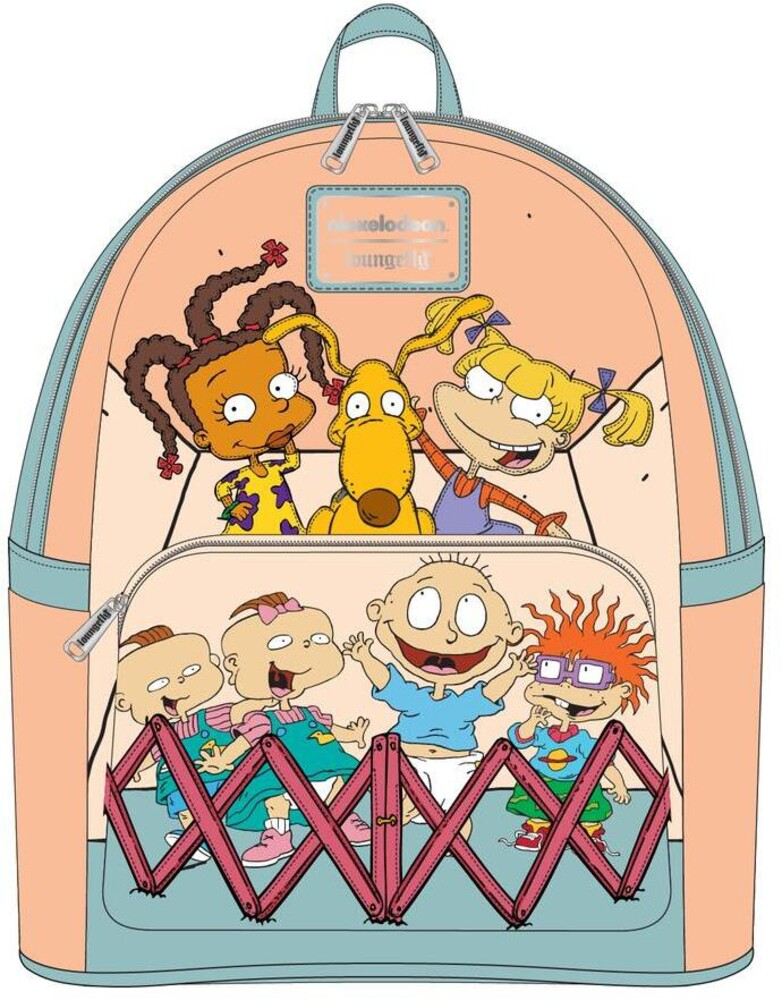 Loungefly Nickelodeon: - Rugrats 30th Anniversary Mini Backpack (Back)