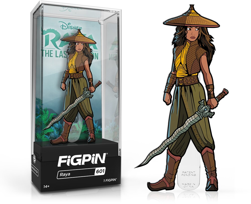 Figpin Raya and the Last Dragon Raya #601 - Figpin Raya And The Last Dragon Raya #601 (Clcb)