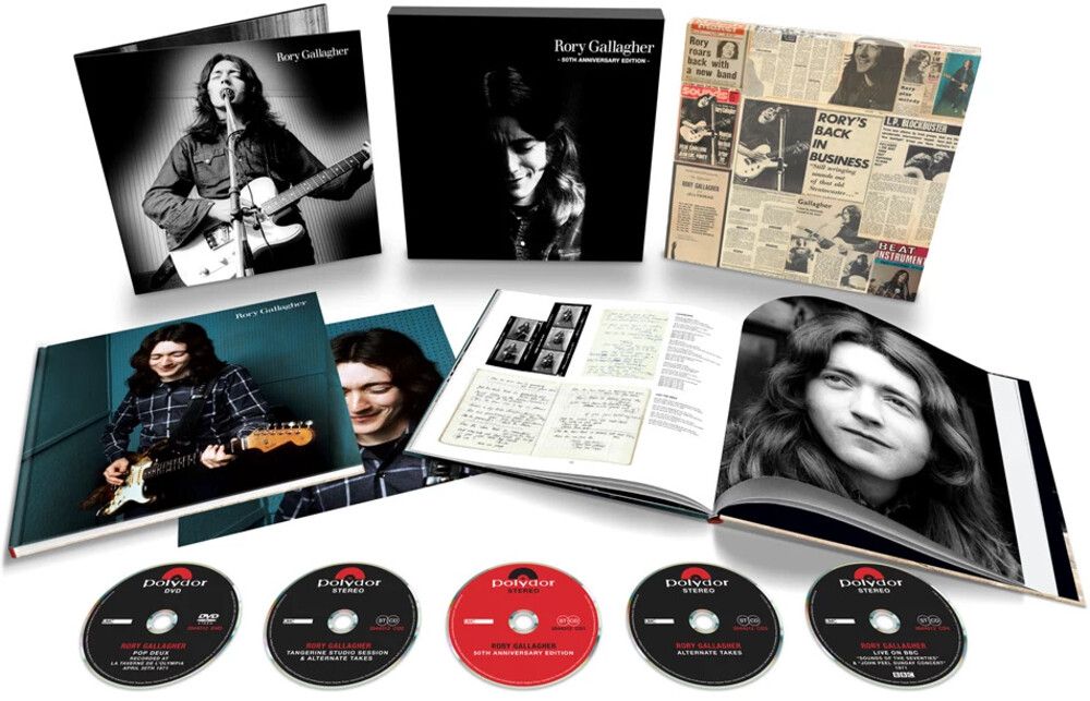 Rory Gallagher - Rory Gallagher (W/Dvd) (Box) [Deluxe]