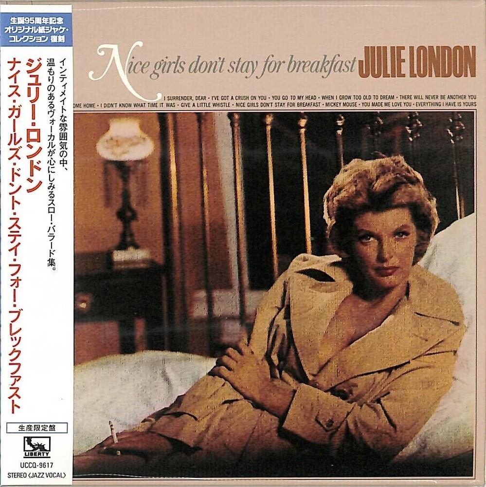 Julie London - Nice Girls Don't Stay For Breakfast (Paper Sleeve)