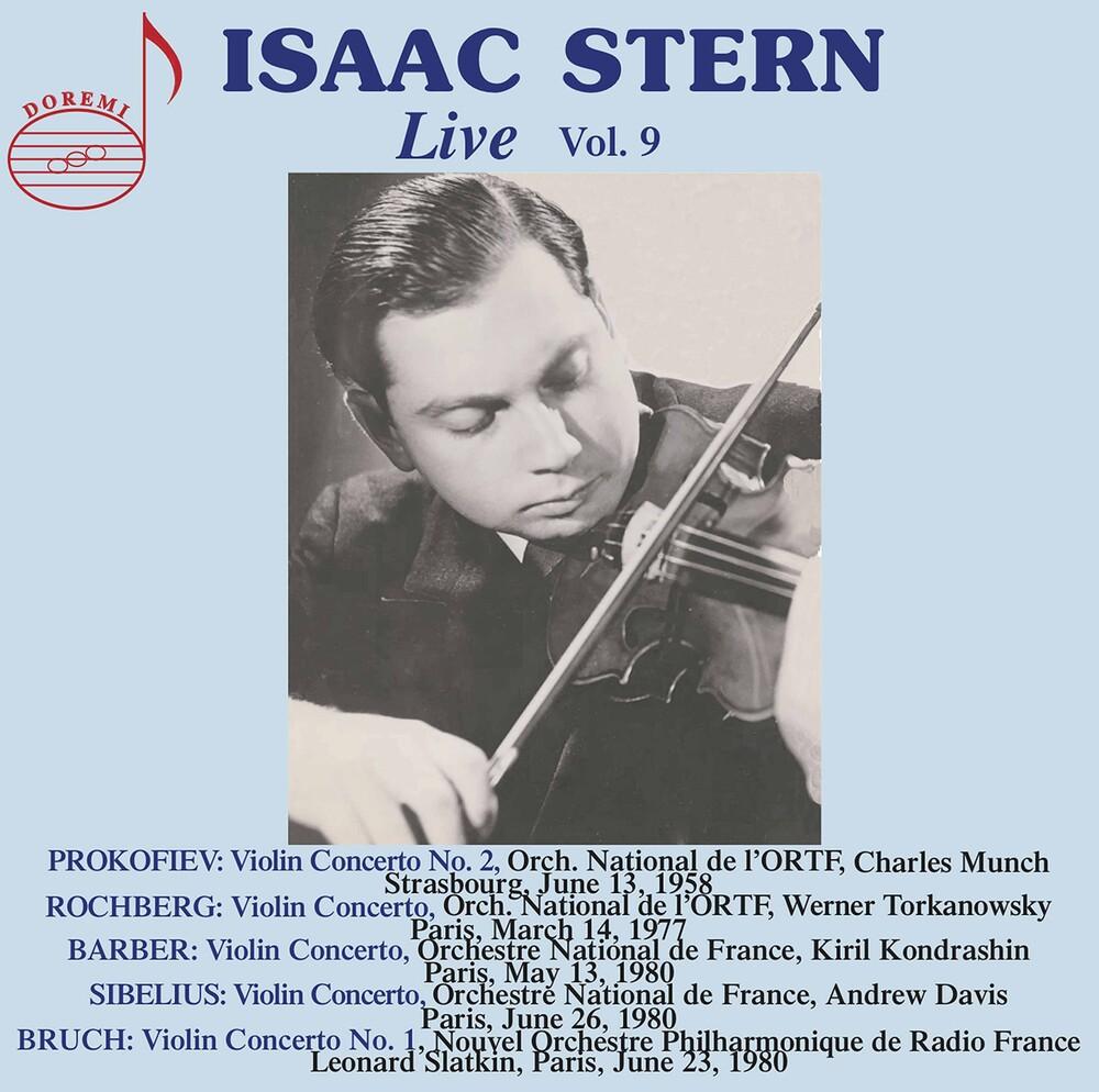Barber / Stern - Isaac Stern Live 9 (2pk)
