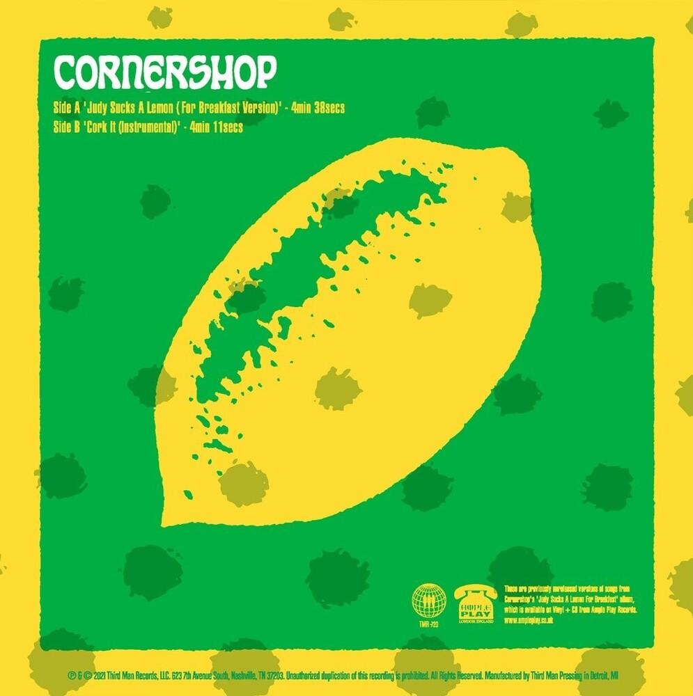 Cornershop - Judy Sucks A Lemon B/W Cork It