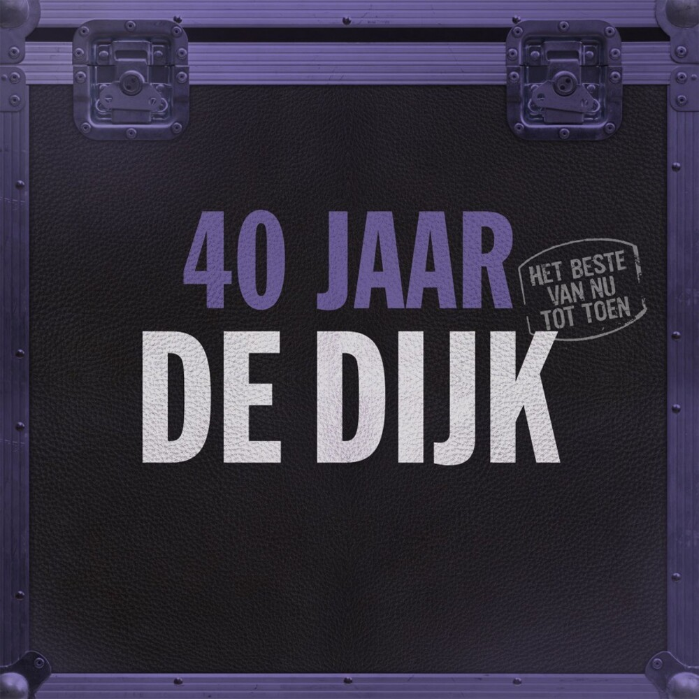 De Dijk - 40 Jaar: Het Beste Van Nu Tot Toen [Limited Gatefold, 180-Gram Purple Colored Vinyl]
