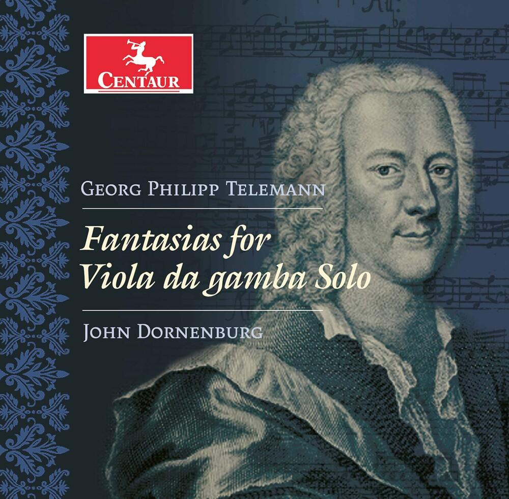 Telemann / Dornenburg - Fantasias For Viola Da Gamba