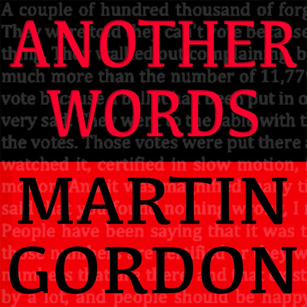 Martin Gordon - Another Words (Uk)