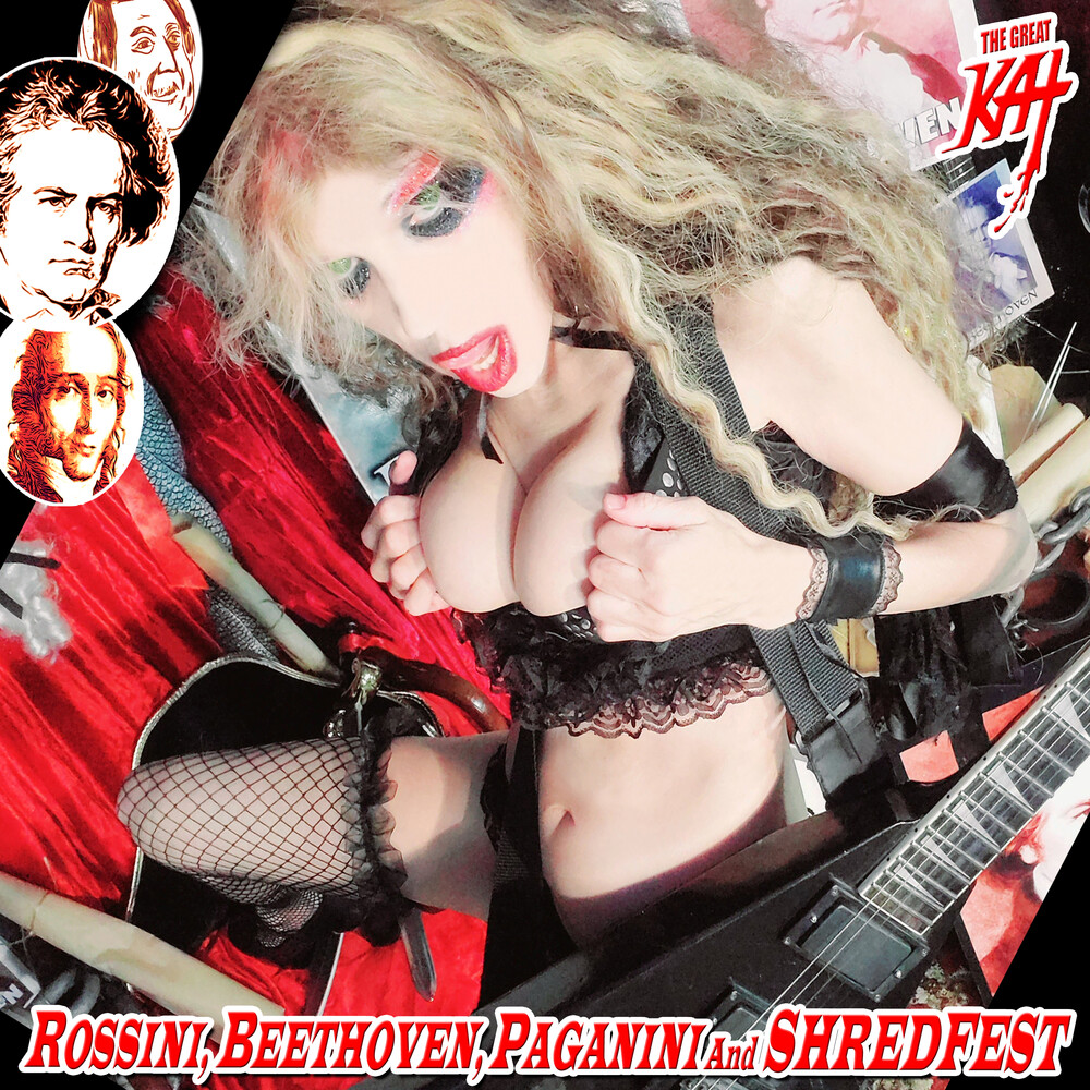 The Great Kat - Rossini, Beethoven, Paganini And Shredfest