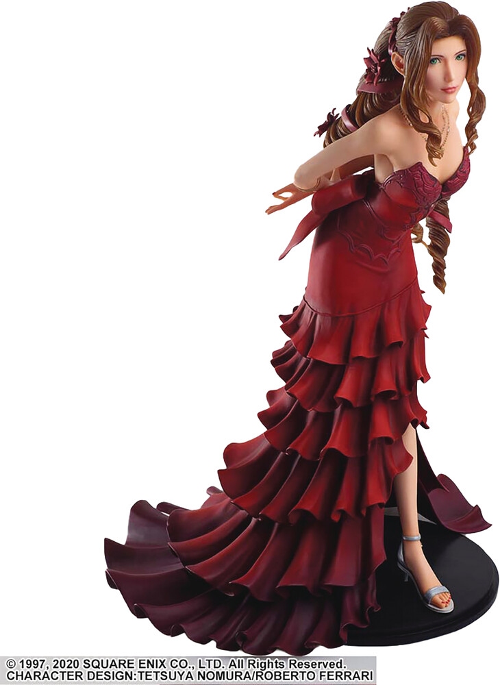 Square Enix - Ffvii Remake Static Arts Aerith Gainsborough Dress