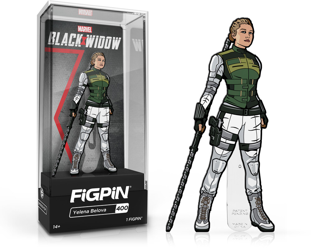 Figpin Marvel Black Widow Yelena Bolova #400 - Figpin Marvel Black Widow Yelena Bolova #400 [Limited Edition]