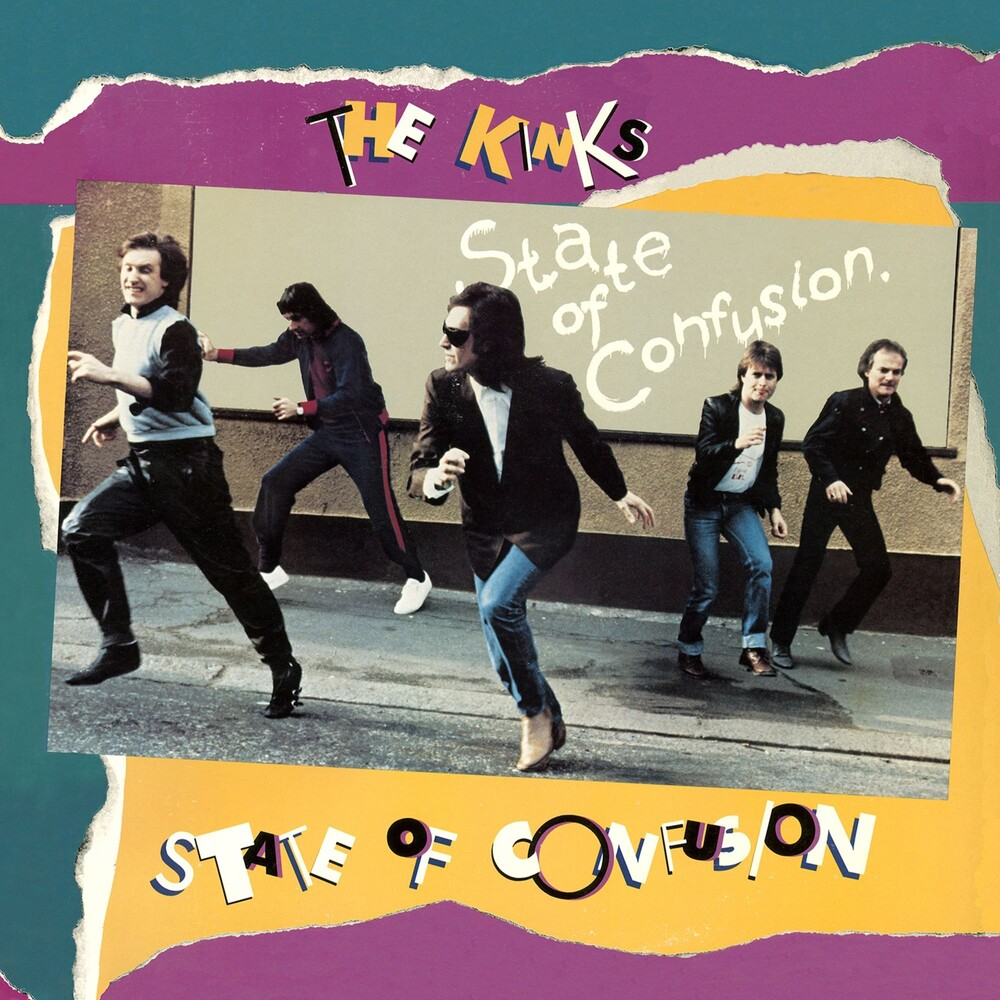 The Kinks - State Of Confusion [Limited Audiophile Edition Clear With Blue & Gold Swirl LP]