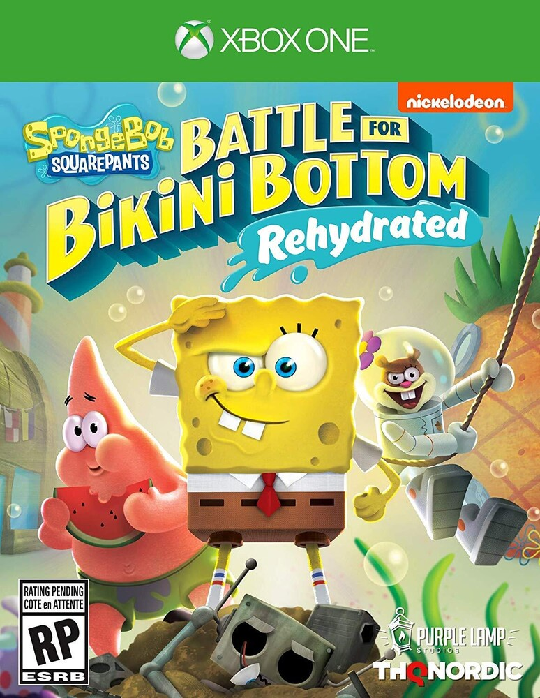 - Spongebob Battle For Bikini Bottom Rehydrated