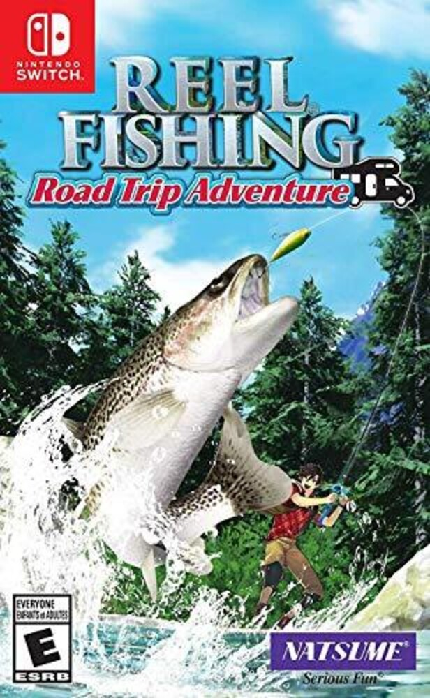 - Reel Fishing: Road Trip Adventure for Nintendo Switch