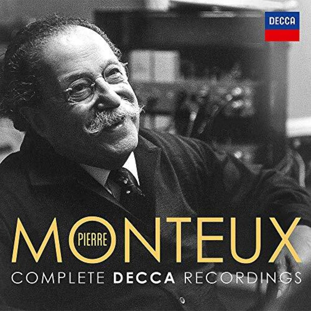 Pierre Monteux - Pierre Monteux Complete Decca Recordings [4CD Box Set]