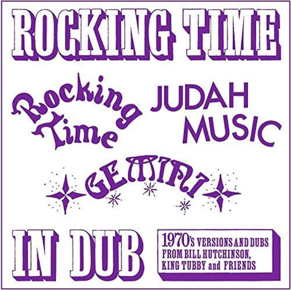 Bill Hutchinson / King Tubby - Rocking Time In Dub