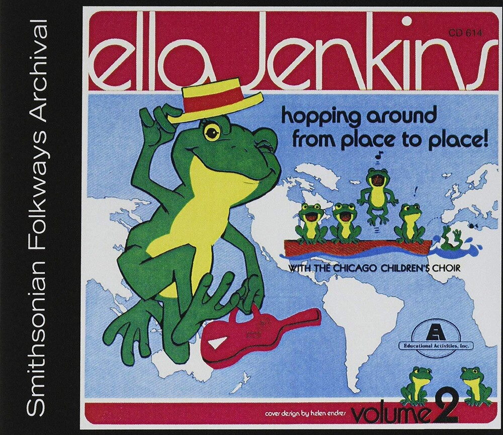 Ella Jenkins - Hopping Around From Place To Place Vol. 2