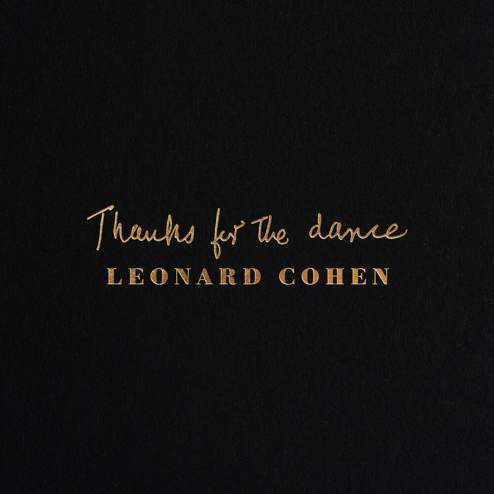 Leonard Cohen - Thanks For The Dance [LP]
