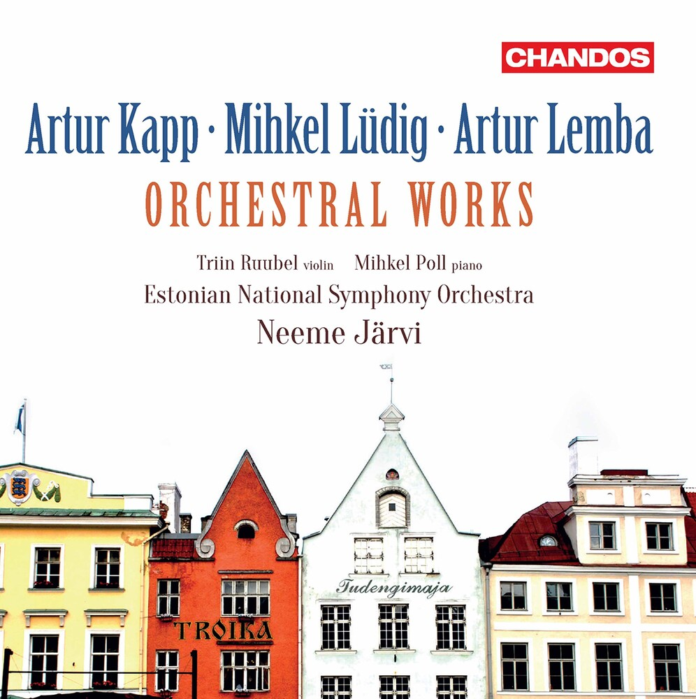 Estonian National Symphony Orchestra - Orchestral Works