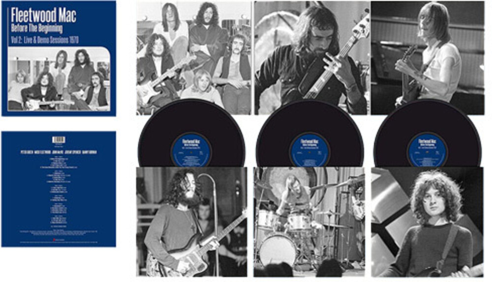 Fleetwood Mac - Before The Beginning, Vol. 2: Live & Demo Sessions 1970 [3LP]