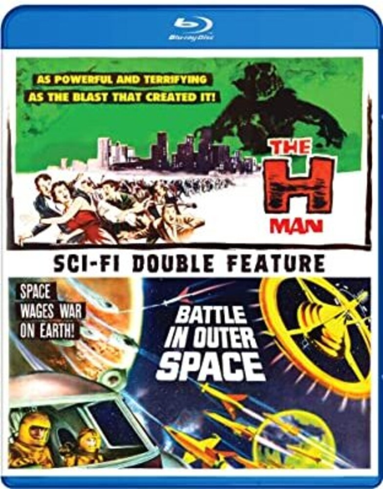 H-Man & Battle in Outer Space - H-Man & Battle In Outer Space (2pc) / (2pk)