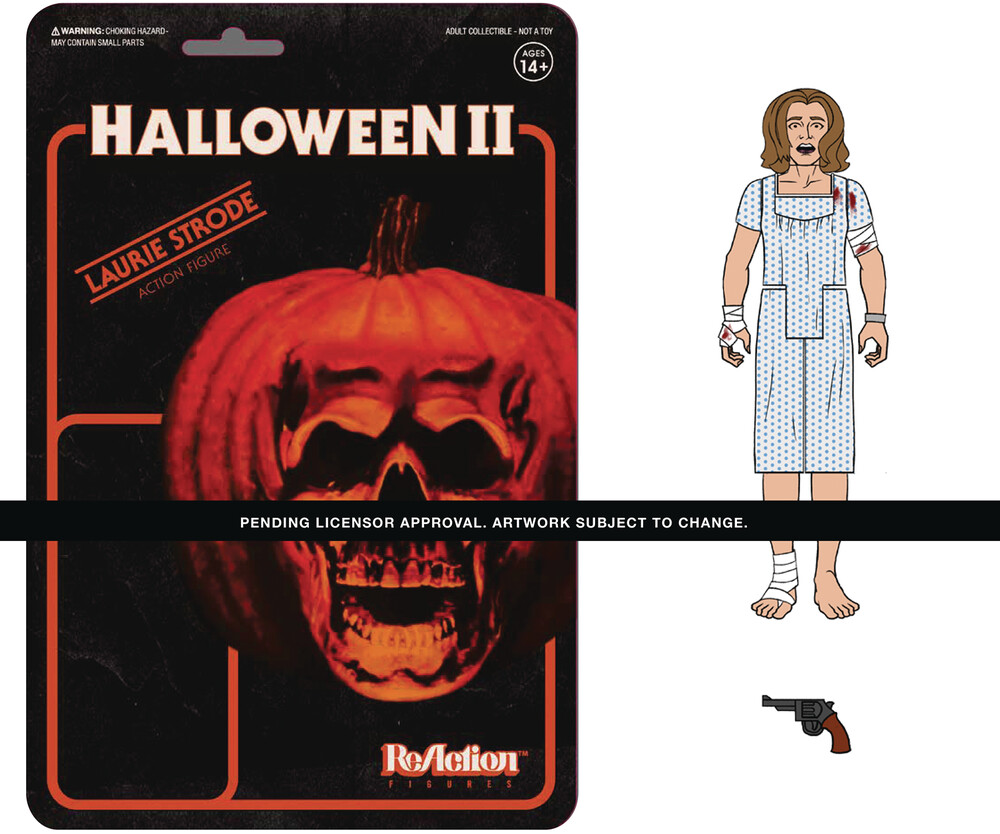 Halloween 2 Reaction Wave 1 - Laurie Strode - Super7 Halloween 2 ReAction Wave 1 - Laurie Strode