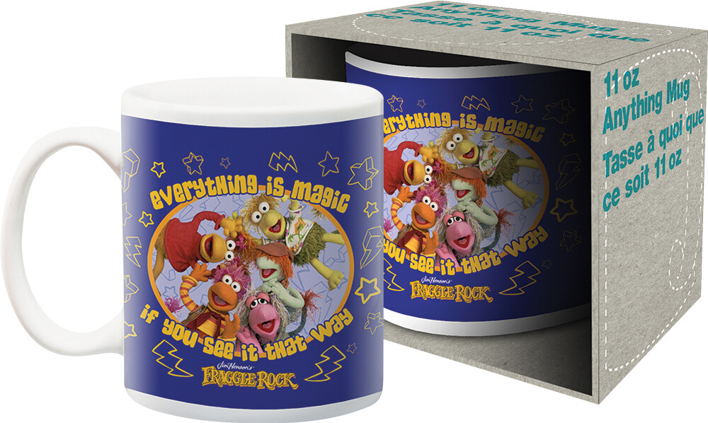 Fraggle Rock Everything Is Magic 11Oz Mug Boxed - Jim Henson's Fraggle Rock Everything Is Magic If You See It That Way11oz Mug Boxed