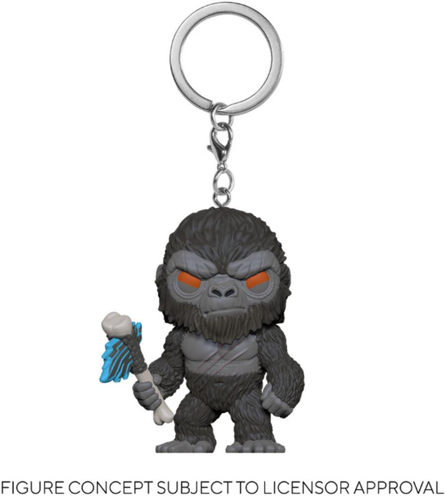 - FUNKO POP! KEYCHAIN: Godzilla Vs Kong- Kong with weapon