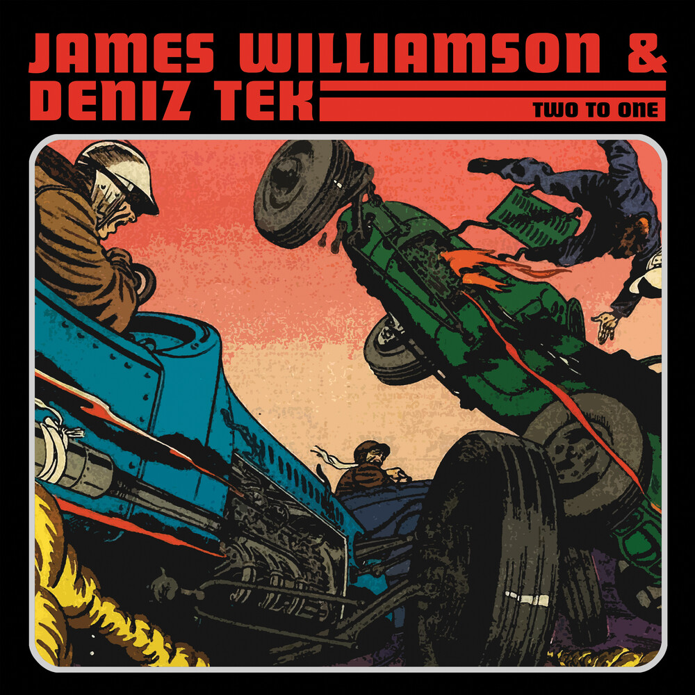 James Williamson / Tak,Deniz - Two To One (Blue) (Red) (Ylw)