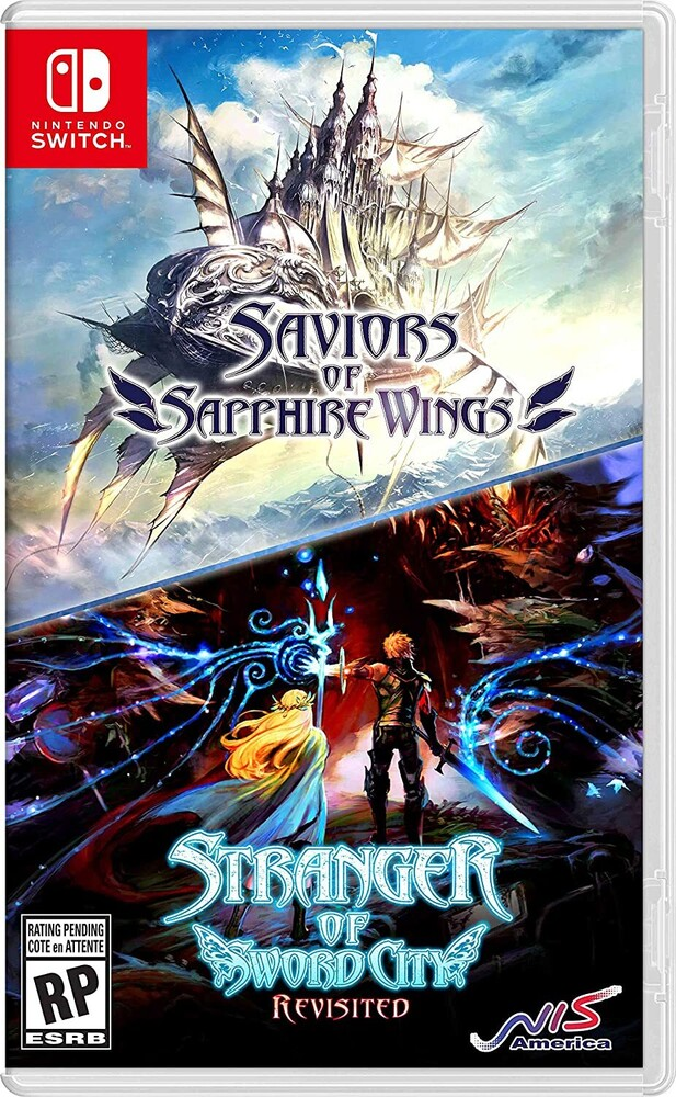 Swi Saviors of Sapphire Wings/Stranger of Sword - Saviors of Sapphire Wings/Stranger of Sword City Revisited forNintendo Switch
