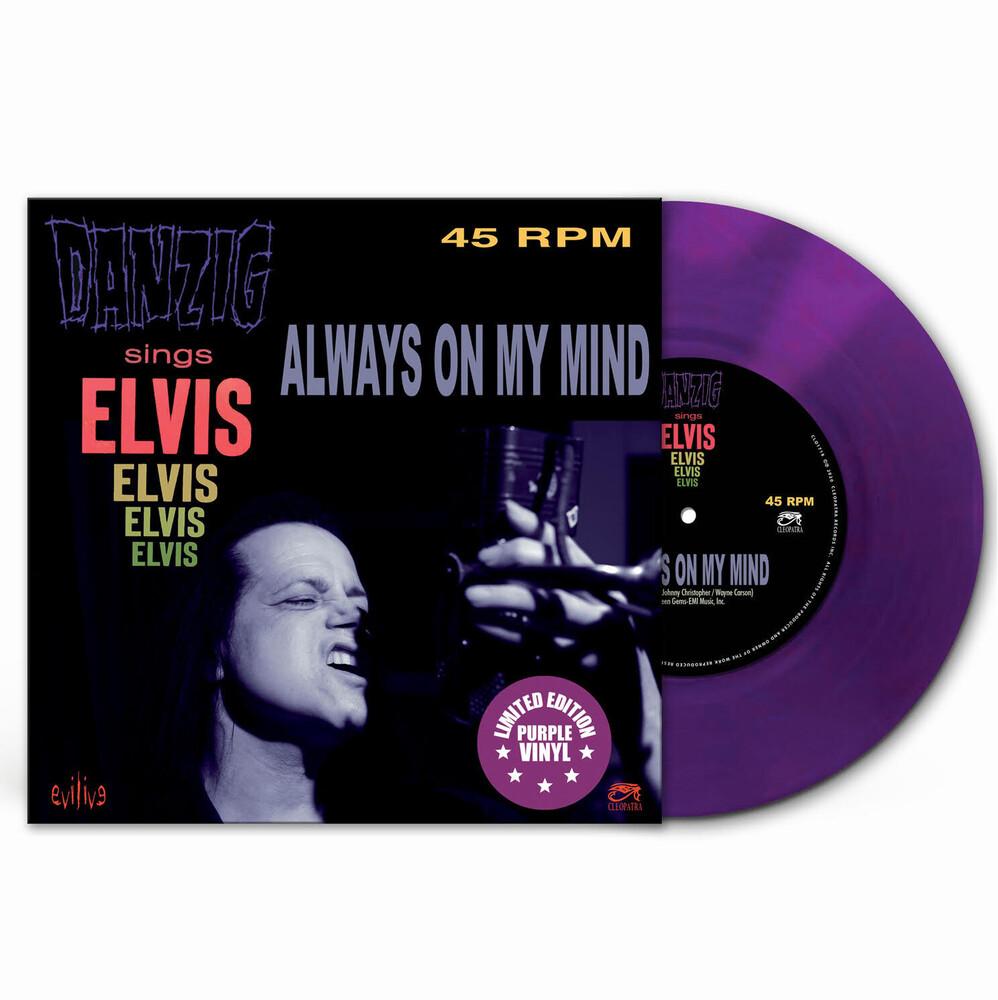 Danzig - Always On My Mind (Purple Vinyl)