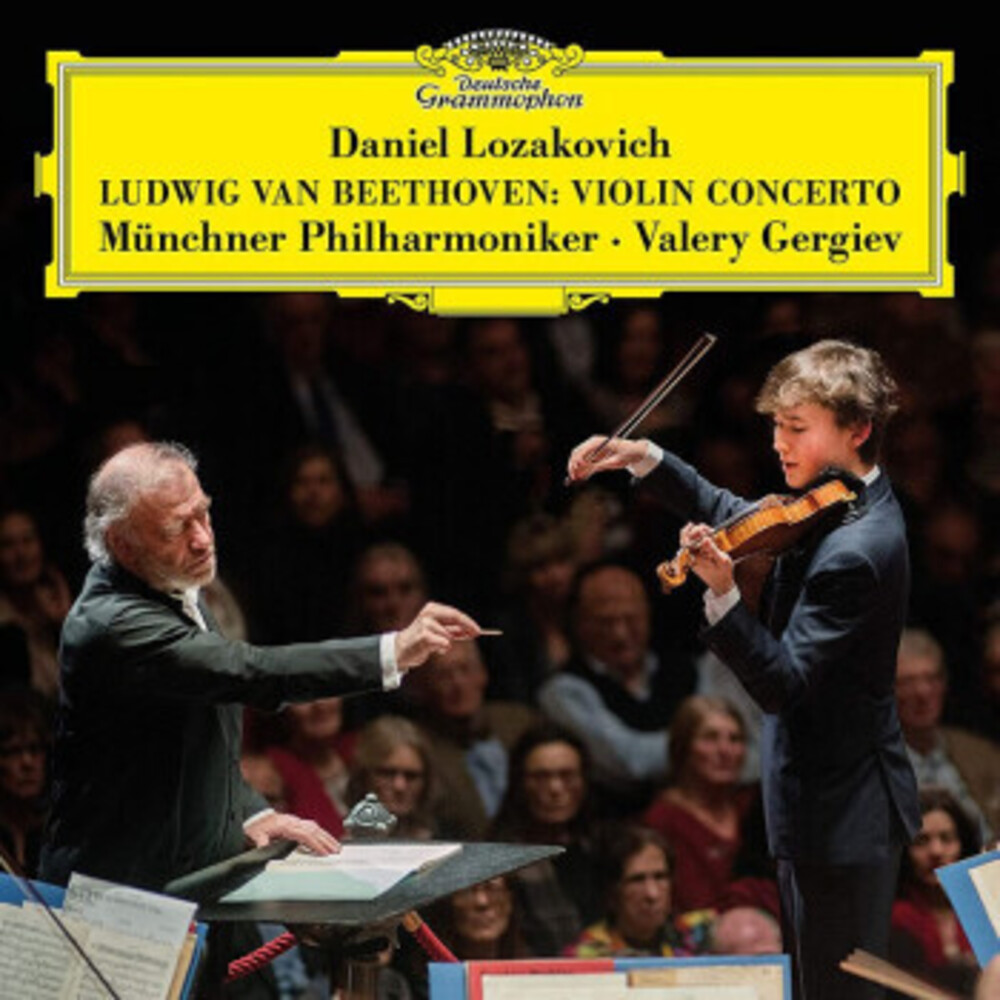 Beethoven / Lozakovich / Munich Philharmonic - Beethoven: Violin Concerto In D Major Op 61 (Uk)