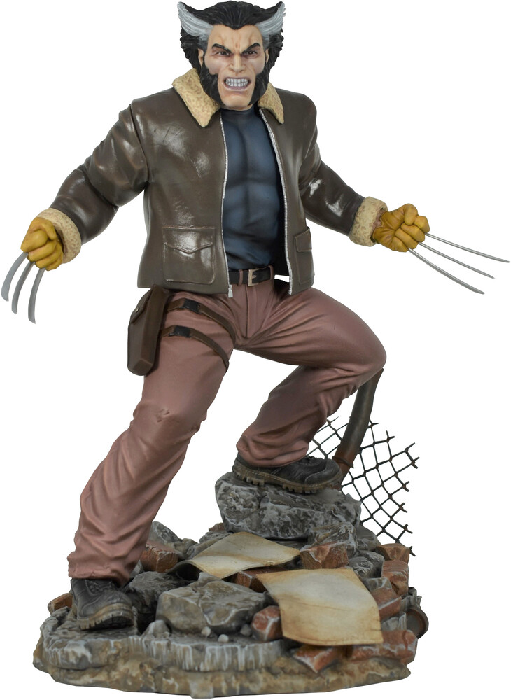 Diamond Select - Diamond Select - Marvel Gallery Comic Days Of Future Past WolverineStatue