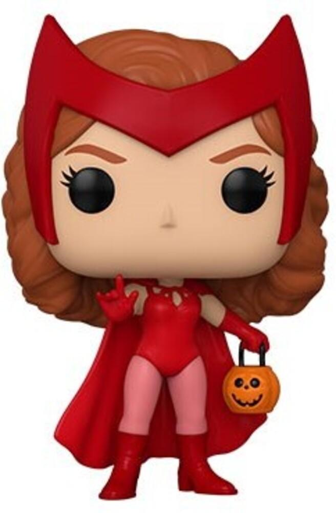 Funko Pop!: - FUNKO POP!: Marvel - Wanda Vision - Wanda (Halloween)