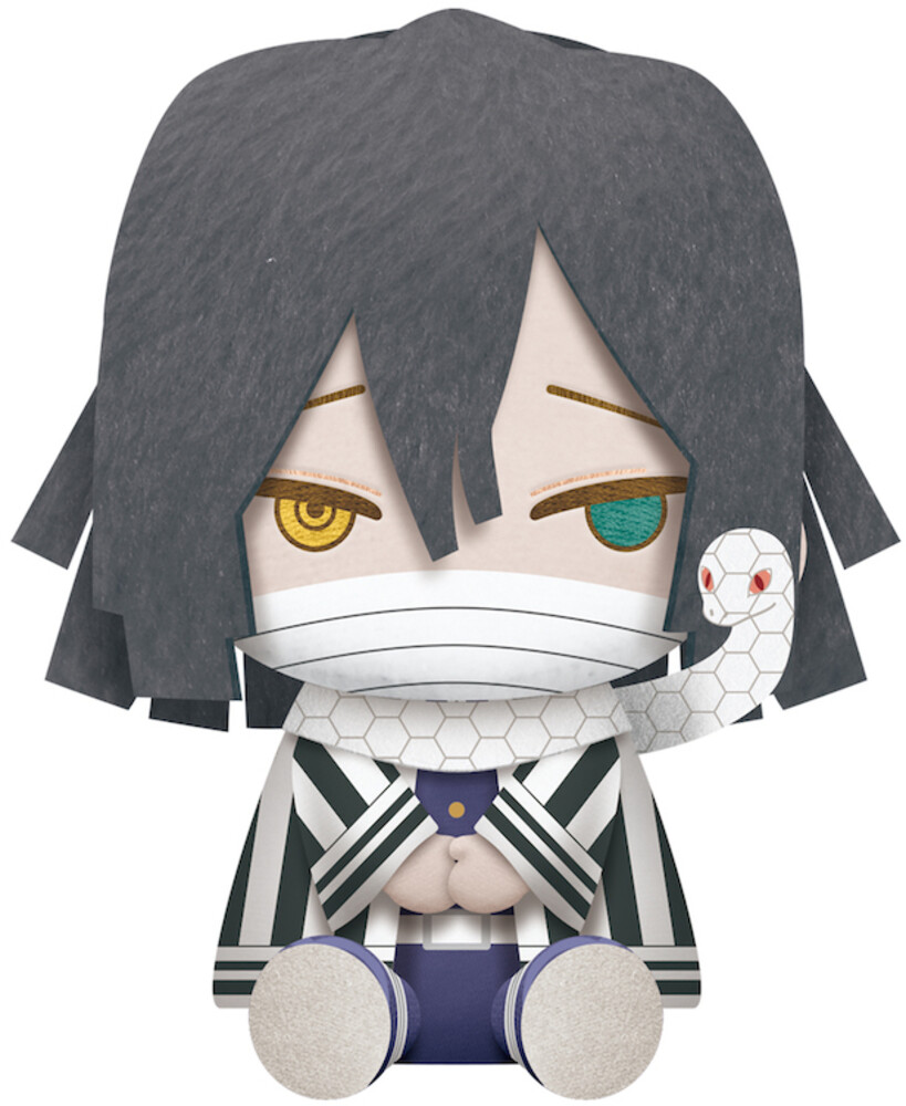 Banpresto - BanPresto - Demon Slayer Obanai Iguro Big Plush