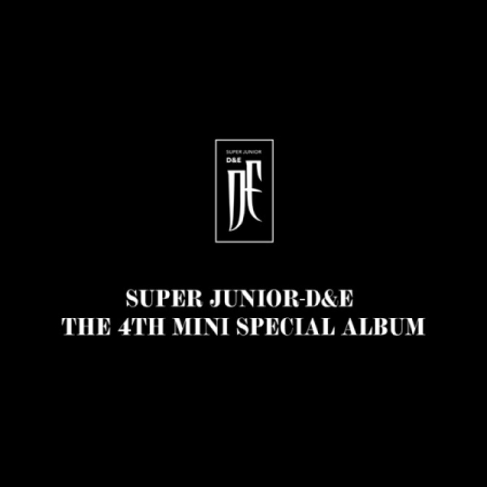 Super Junior D & E - 4th Mini Special Album (Post) (Pcrd) (Phob) (Phot)