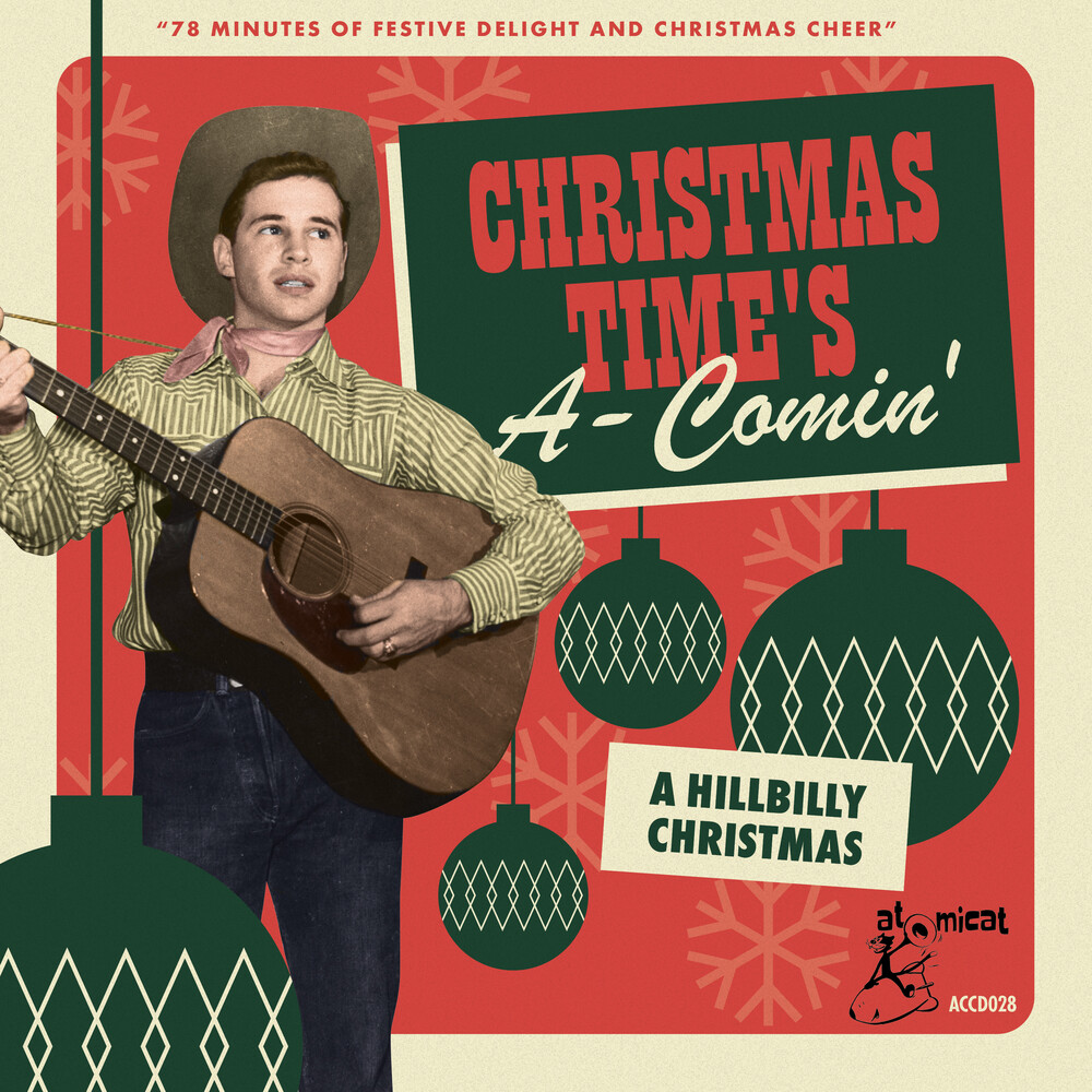 Christmas Times A-Comin A Hillbilly / Various - Christmas Time's A-Comin': A Hillbilly Christmas (Various Artists)