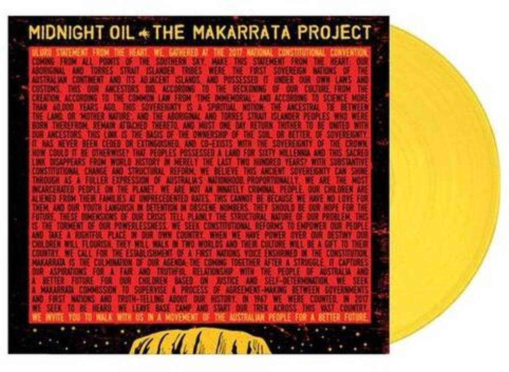 Midnight Oil - The Makarrata Project [Import Yellow LP]