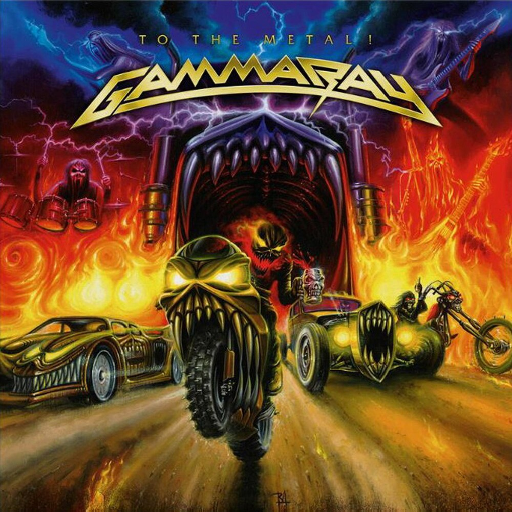 Gamma Ray - To The Metal [Colored Vinyl] [Limited Edition] (Org) (Ita)