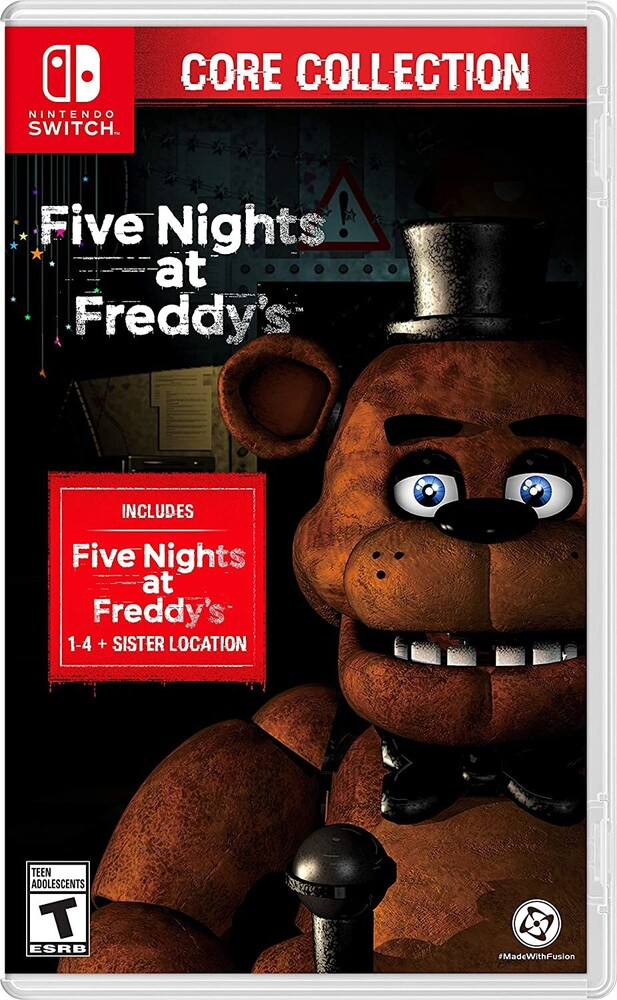Swi 5 Nights at Freddy's: Core Collection - Five Nights at Freddy's: The Core Collection for Nintendo Switch