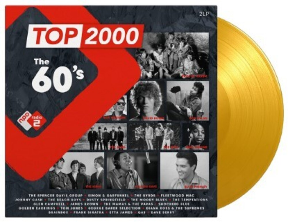 Top 2000 The 60s / Various - Top 2000: The 60's / Various [Colored Vinyl] (Gate) [Limited Edition]