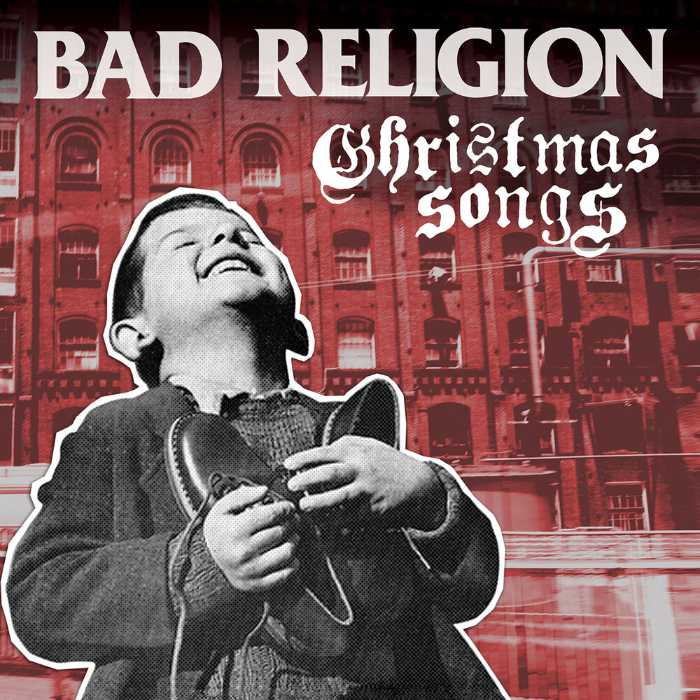 Bad Religion - Christmas Songs (Clear with Red Vinyl)