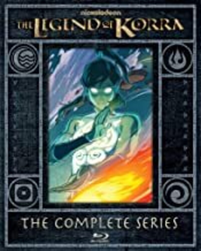 Jeff Bennett - Legend Of Korra: The Complete Series (4pc) / (Box)