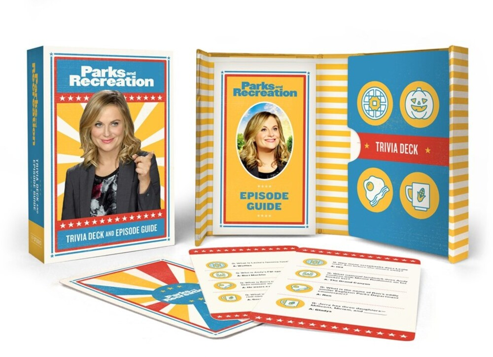 Kopaczewski, Christine - Parks and Recreation: Trivia Deck and Episode Guide