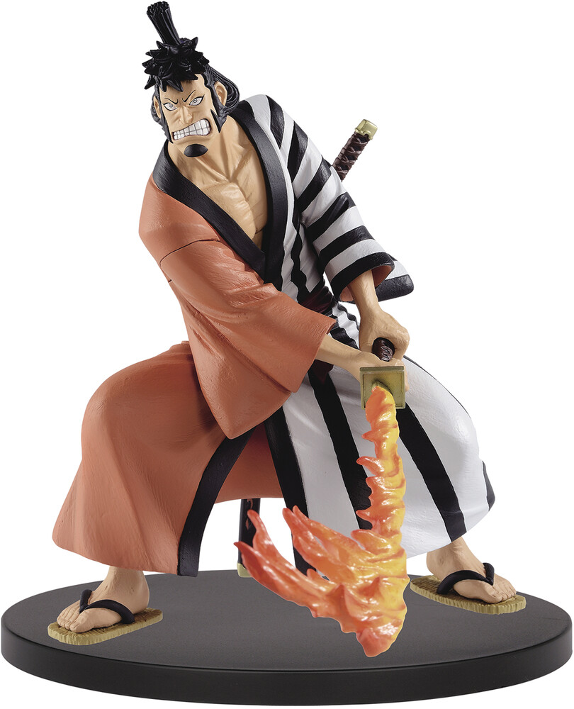 - BanPresto - One Piece Battle Record Collection Kin'emon Figure