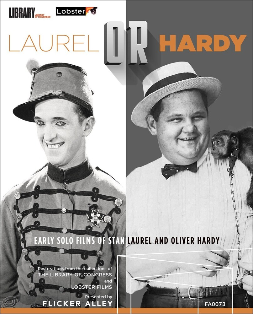 Ralph Cedar - Laurel or Hardy: Early Solo Films of Stan Laurel and Oliver Hardy