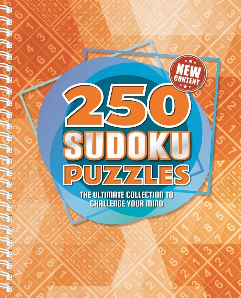 - 250 Sudoku Puzzles: The Ultimate Collection to Challenge Your Mind
