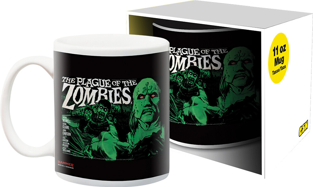 Hammer Zombies 11Oz Boxed Mug - Hammer Zombies 11oz Boxed Mug
