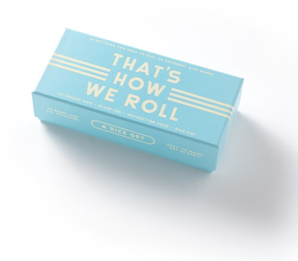 - That's How We Roll: Dice Game Set