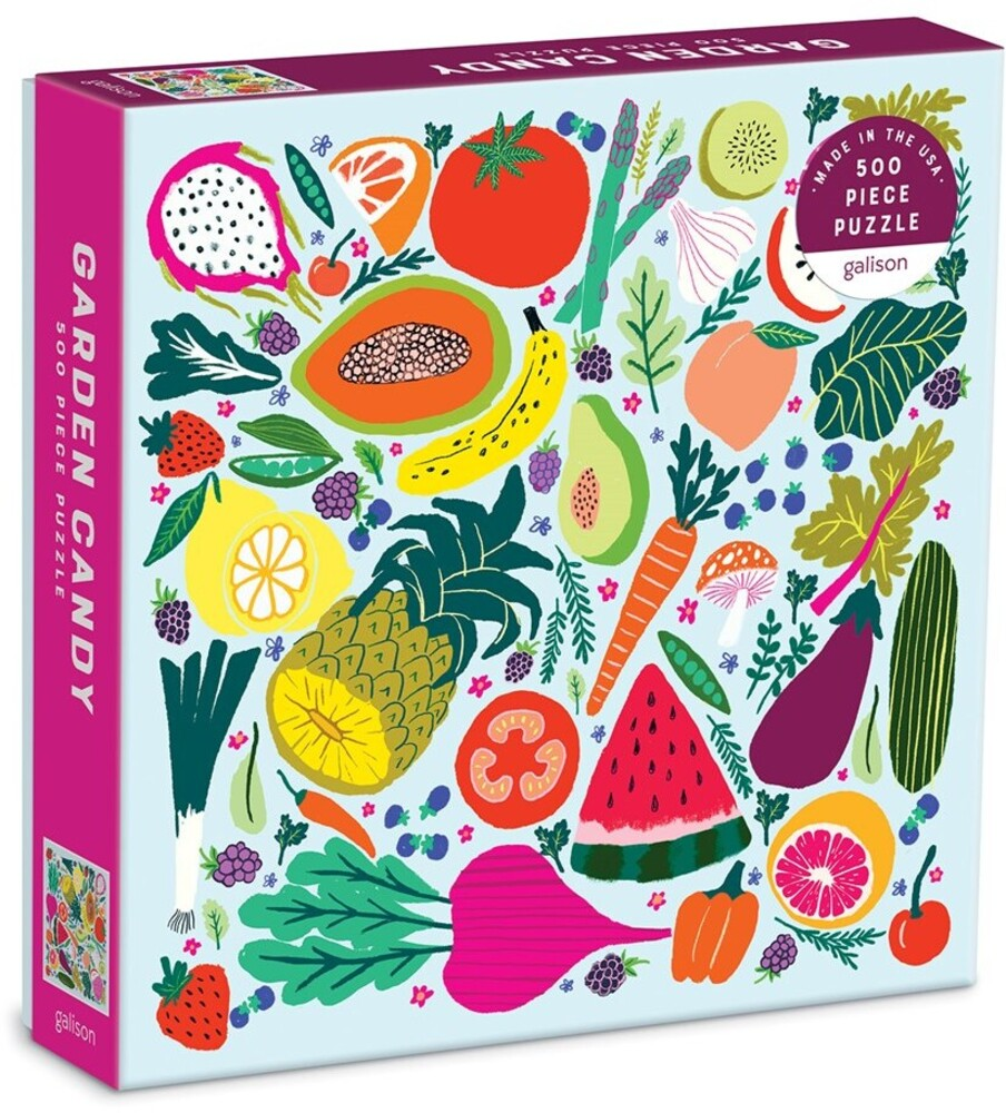 - Garden Candy 500 Piece Puzzle
