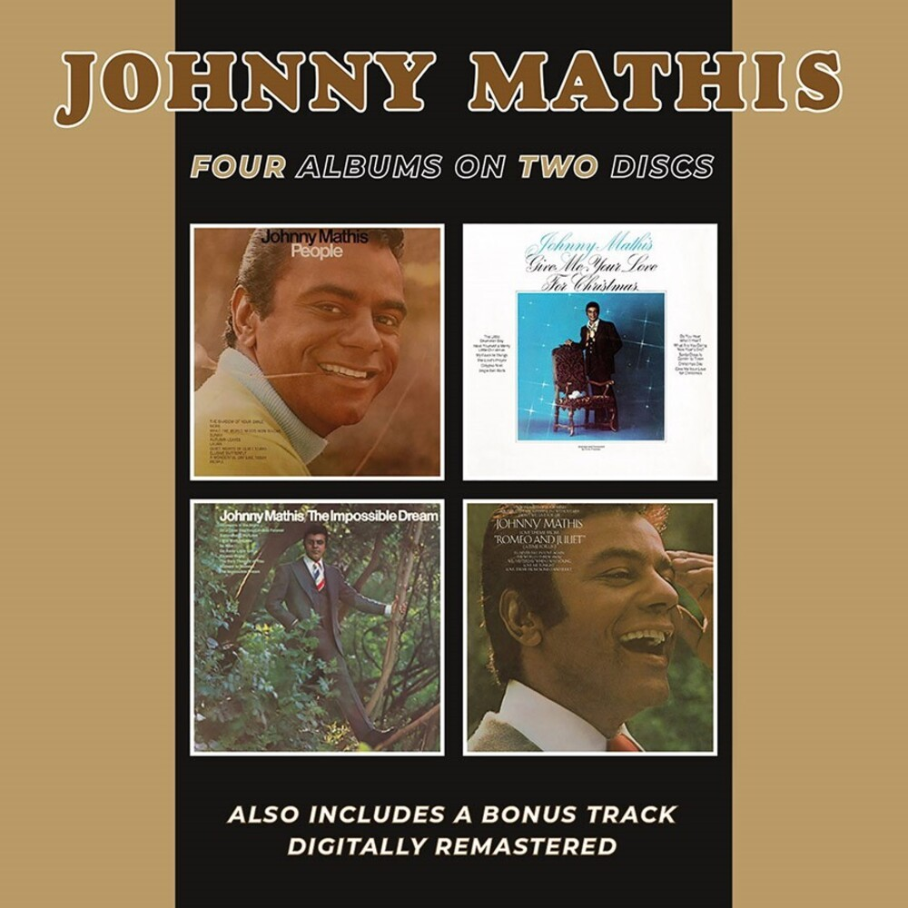 Johnny Mathis - People / Give Me Your Love For Christmas / The Impossible Dream / LoveTheme From Romeo & Juliet (A Time For Us)